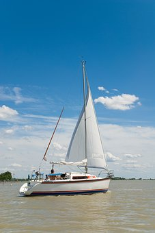 Sailing Boat, Lake, Water, Boat, Sailing Vessel, Sailor