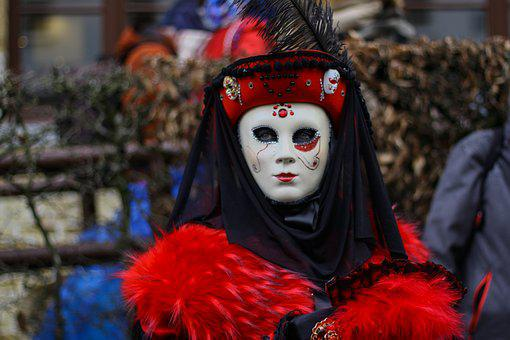 Carnival, Bruges, Festival, Disguise, Costume, Mask