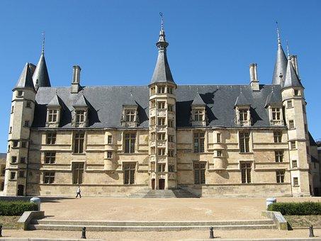 Ducal Palace, Castle, Nevers, France