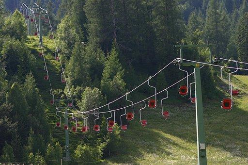 Chairlift, Lift, Ski Lift, Mountains, Winter Sports