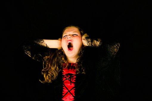 Scream, Child, Girl, People, Kid, Childhood, Screaming