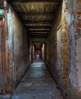 Corridor, Endless, Passage, Infinite, Mounting