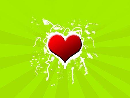 Heart, Background, Love, Valentine's Day, Creative