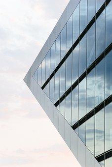 Building, Sky Scrapper, Looking Up