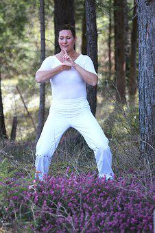Qigong, Integration, Beauty, Rest, Spring, Nature