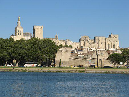 Palace Of The Popes, Avignon, Heritage, Provence