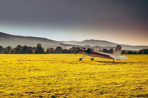 Czech Republic, Mountains, Landscape, Airplane, Plane