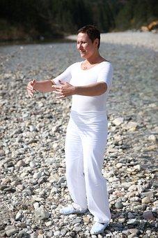 Qi-gong, Calm, Qigong, Spirituality, Fernöstlich, Park