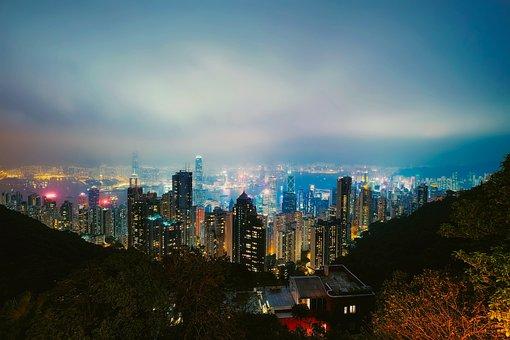 Hong Kong, City, Urban, Cityscape, Downtown, Skyline