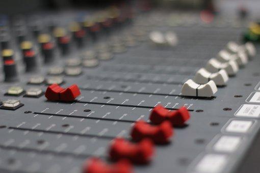 Radio, Fader, Broadcast, Mixer, Audio, Studio, Mixing