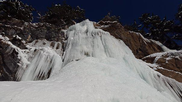 Icicle, Waterfall, Ice, Icefall, Water Ice, Winter