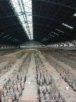 Mausoleum Of The First Qin Emperor, Xian, West Coast