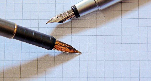 Filler, Fountain Pen, Writing Implement, Write