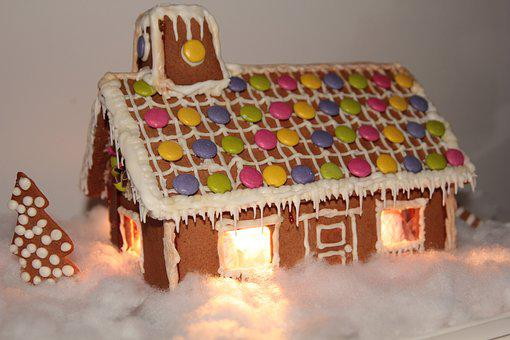 Gingerbread Houses, Christmas, Gingerbread, Advent