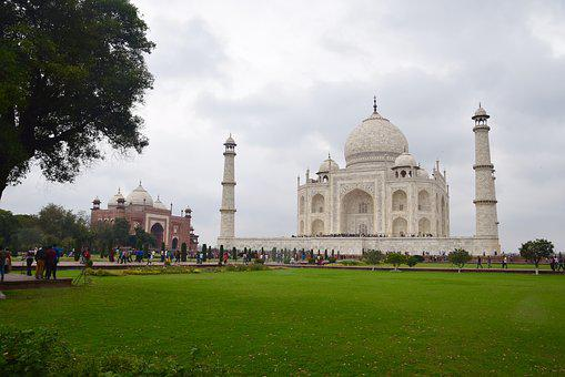 Taj Mahal, Agra, India, Architecture, Mughal, Love