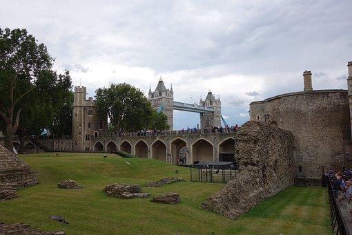 London, Tower Bridge, England, Thames, Bridge, Uk