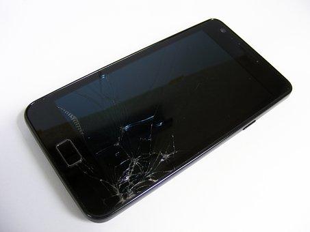 Smartphone, Broken, Repair, Broken Glass, Screen