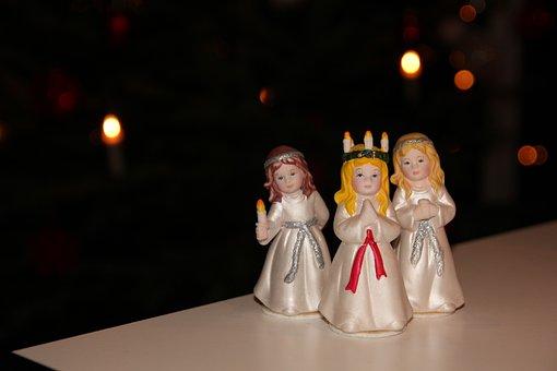 Lucia Procession, Bridesmaids, Christmas