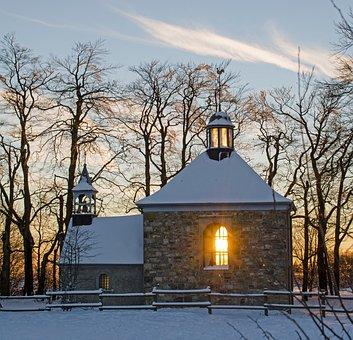 Church, Chapel, Small Church, Steeple