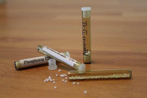 Homeopathy, Globuli, Tube, Medical, Samuel Hahnemann
