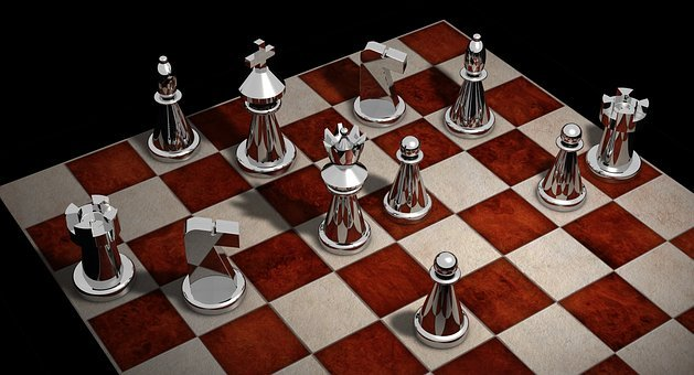Chess, Figures, Chess Pieces, King, Lady, Strategy