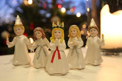 Lucia, Lucia Procession, Christmas