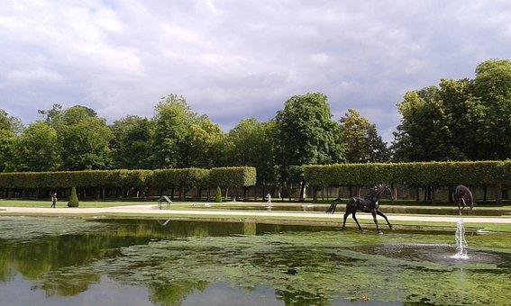 France, Lunéville, Park