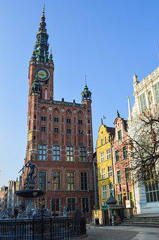 Town Hall, City, Town, Architecture, Europe, Poland
