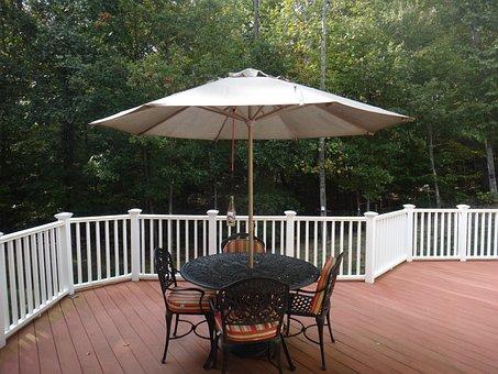 Deck, Furniture, Exterior, House, Porch, Outdoor, Patio
