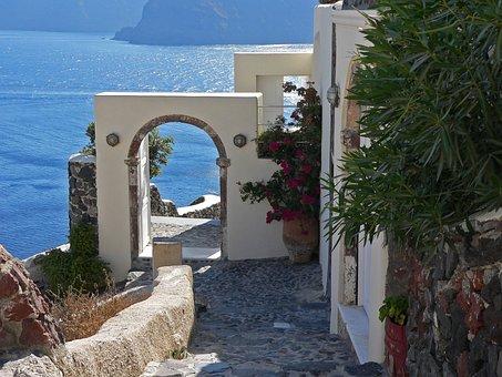 Santorini, View To The Sea, Cozy Corner