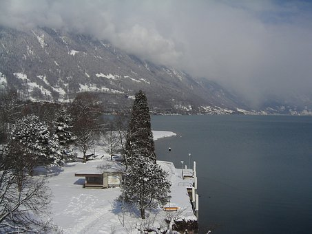 Bönigen, Switzerland, Winter