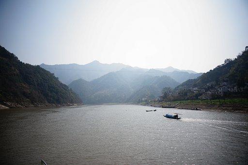 Xinanjiang, River, Landscape