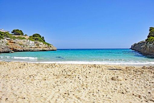 Cala Anguila, Mallorca, Balearic Islands, Spain, Sea