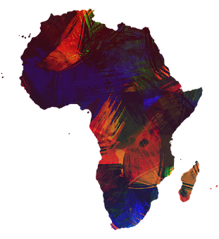 Africa, Continent, Colorful, Color, Globe, World