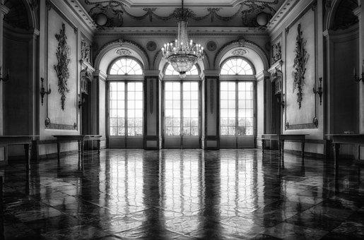 Castle, Hall, Window, Ballroom, Splendor, Historically