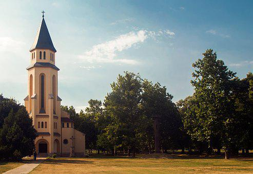 Church, Hungary, Tolna County, Catholic, Christian