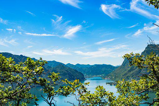 Sky, Lake Idro, Lake, Lago De Idro, Italy, Rest, Water