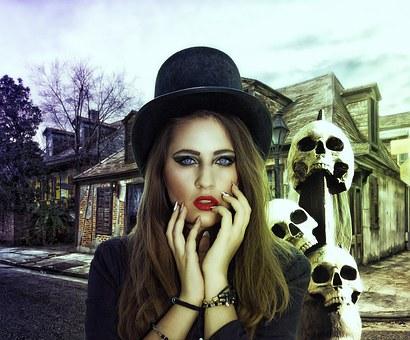Gothic, Fantasy, Dark, Female, Lady, Mystery, Magic