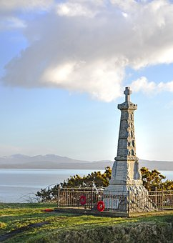 Islay, Cenotaph, Remembrance, Day, Hebrides, Island, Sc
