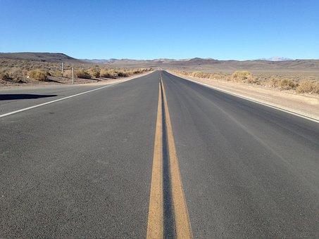 Route 66, Desert, Travel, Roadtrip