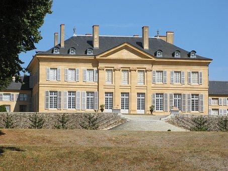 Castle, Saint-aubin-sur-loire, Saone-et-loire, Burgundy