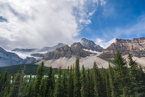 Mountain, Sky, Peak, Nature, Landscape, Rock, Top, Snow
