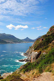 South Africa, Cape, Peninsula, Chapman's Peak, Panorama