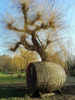 Barrel, Cucumbers Barrel, Pasture, Spreewald, Tree