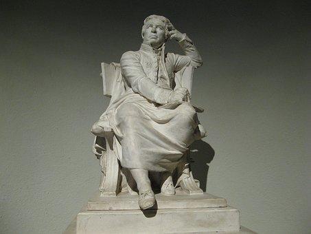 Statue Of Jean-august Ingres, Ingres Museum, Montauban