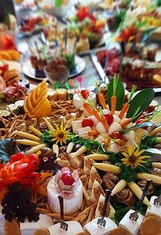 Swedish Buffet, Restaurant, Food, Kitchen, Tasty