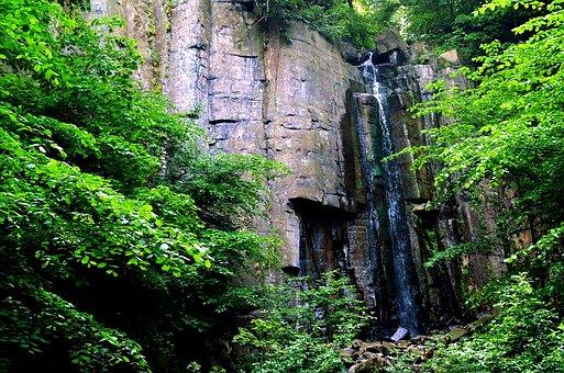 Vaňov, Waterfall, Basalt, Nature