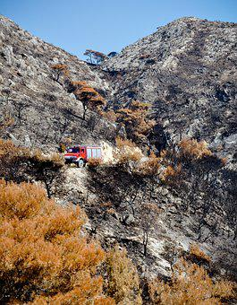 Fire, Fire Department, Firefighters, A Fire Truck