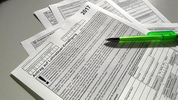 Forms, Tax Return, Additional Expenses