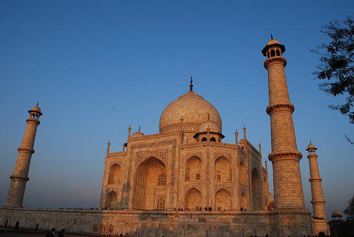 Taj Mahal, Monument, Wonder, India, Agra, Historic